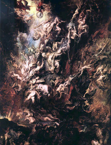 Peter Paul Rubens The Fall of the Damned - Hand Painted Oil Painting