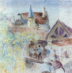 Camille Pissarro The Farm, Osny - Hand Painted Oil Painting