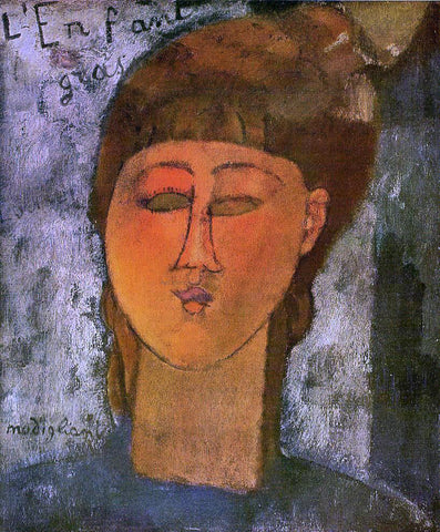 Amedeo Modigliani The Fat Child - Hand Painted Oil Painting