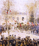 Jean-Francois Raffaelli The Festival for the 80th Birthday of the Poete - Hand Painted Oil Painting