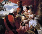 Franz Xavier Winterhalter The First of May 1851 - Hand Painted Oil Painting