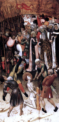 Bernat Martorell The Flagellation of St George - Hand Painted Oil Painting