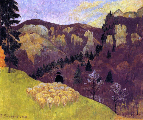 Paul Serusier The Flock in the Black Forest - Hand Painted Oil Painting