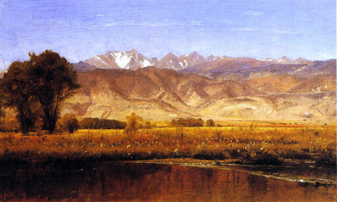 Thomas Worthington Whittredge The Foothills - Hand Painted Oil Painting