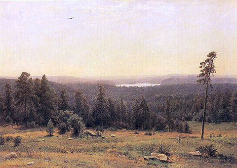 Ivan Ivanovich Shishkin The Forest Horizons - Hand Painted Oil Painting