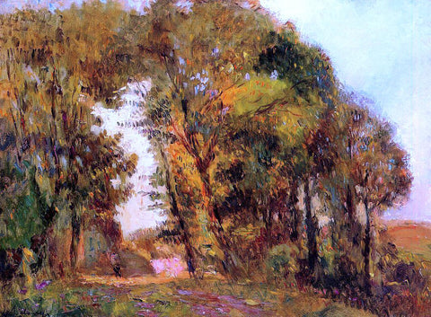 Albert Lebourg The Forest in Autumn near Rouen - Hand Painted Oil Painting