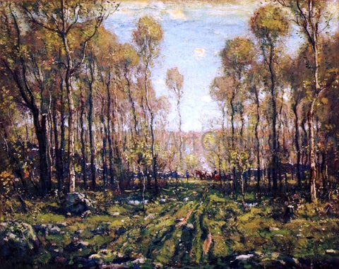 Henry Ward Ranger The Forest Road, Early Spring - Hand Painted Oil Painting