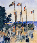Henri Edmond Cross The Fourth of July by the Sea - Hand Painted Oil Painting