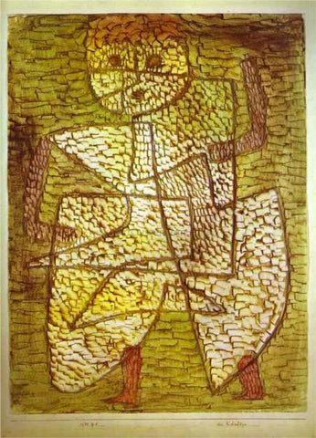 Paul Klee The Future Man - Hand Painted Oil Painting