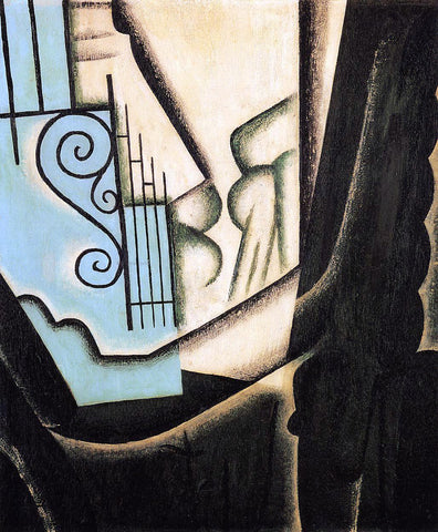 Juan Gris The Garden - Hand Painted Oil Painting