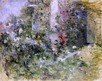 Berthe Morisot The Garden at Bougival - Hand Painted Oil Painting