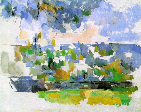 Paul Cezanne The Garden at Les Lauves - Hand Painted Oil Painting