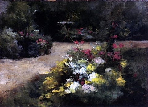 Gustave Caillebotte The Garden - Hand Painted Oil Painting