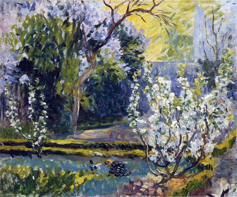 Henri Lebasque The Garden in Spring - Hand Painted Oil Painting