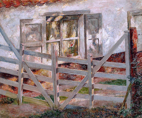 Emile Claus The Gate - Hand Painted Oil Painting