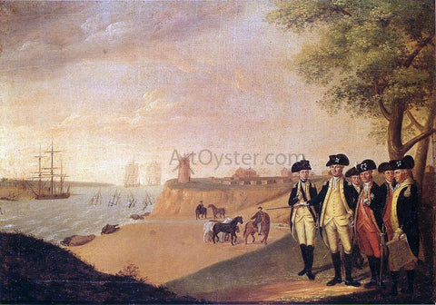 James Peale The Generals at Yorktown - Hand Painted Oil Painting