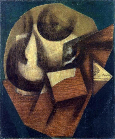 Juan Gris The Glass - Hand Painted Oil Painting