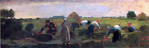 Winslow Homer The Gleaners - Hand Painted Oil Painting