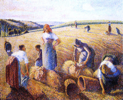 Camille Pissarro The Gleaners - Hand Painted Oil Painting