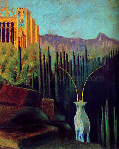 Mikalojus Ciurlionis The Goat - Hand Painted Oil Painting