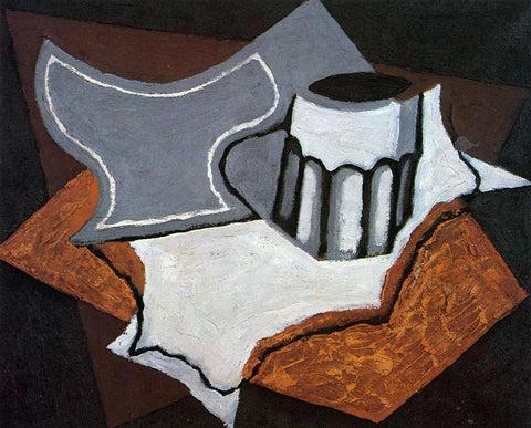 Juan Gris The Goblet - Hand Painted Oil Painting