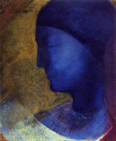 Odilon Redon The Golden Cell - Hand Painted Oil Painting