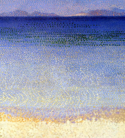 Henri Edmond Cross The Golden Isles - Hand Painted Oil Painting