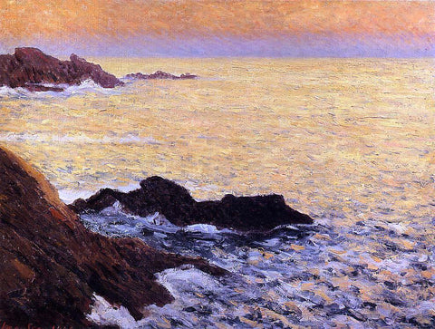 Maxime Maufra The Golden Sea - Quiberon - Hand Painted Oil Painting
