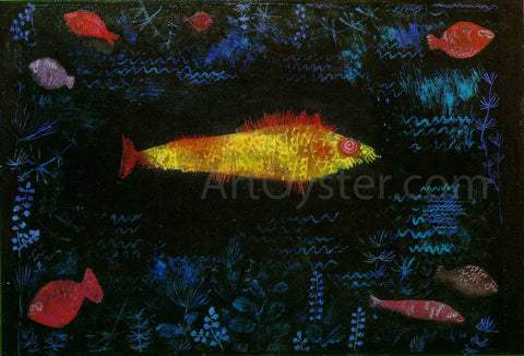 Paul Klee The Goldfish - Hand Painted Oil Painting