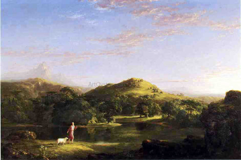 Thomas Cole The Good Shepherd - Hand Painted Oil Painting