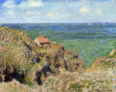 Claude Oscar Monet The Gorge at Varengeville - Hand Painted Oil Painting
