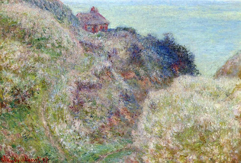 Claude Oscar Monet The Gorge du Petit Ailly, Verengeville, Grey Weather - Hand Painted Oil Painting