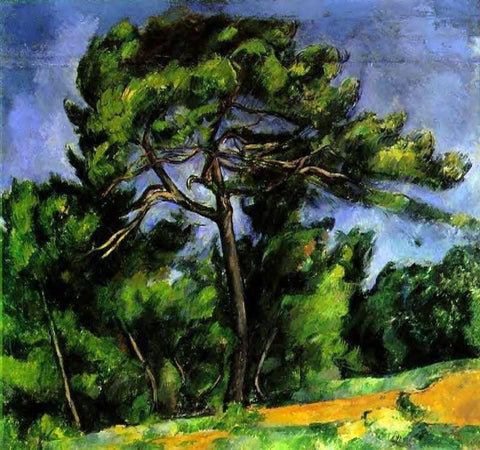 Paul Cezanne The Great Pine - Hand Painted Oil Painting