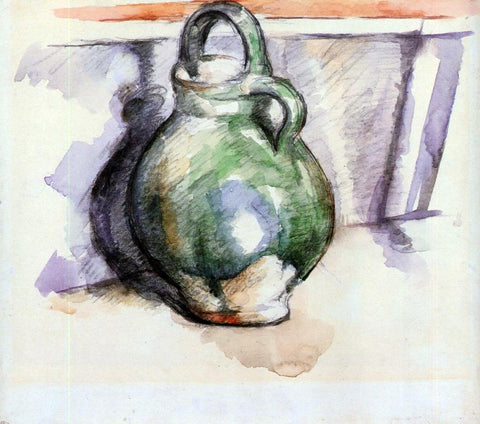 Paul Cezanne The Green Pitcher - Hand Painted Oil Painting