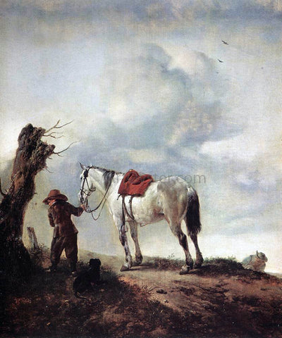 Philips Wouwerman The Grey - Hand Painted Oil Painting