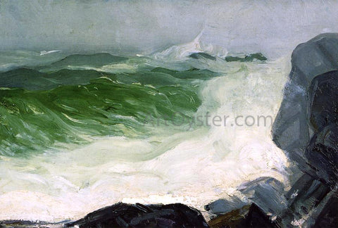 George Wesley Bellows The Grey Sea - Hand Painted Oil Painting