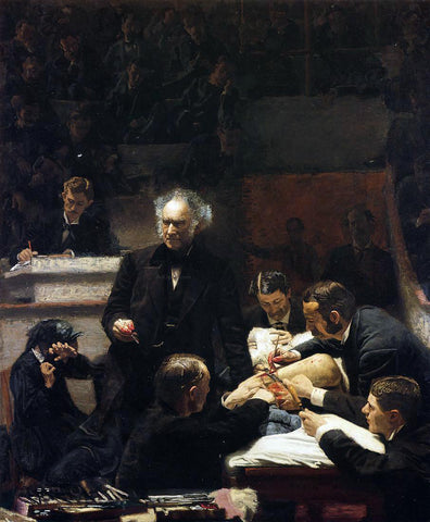 Thomas Eakins The Gross Clinic - Hand Painted Oil Painting
