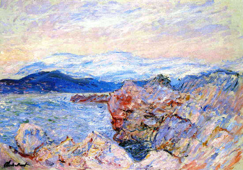Claude Oscar Monet The Gulf Juan at Antibes - Hand Painted Oil Painting