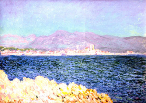 Claude Oscar Monet The Gulf of Antibes - Hand Painted Oil Painting