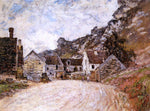 Claude Oscar Monet The Hamlet of Chantemesie at the Foot of the Rock - Hand Painted Oil Painting