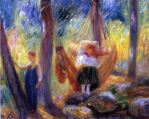 William James Glackens The Hammock - Hand Painted Oil Painting