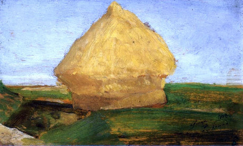 Paul Signac The Haystack - Hand Painted Oil Painting