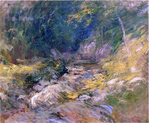 John Twachtman The Hidden Pool - Hand Painted Oil Painting
