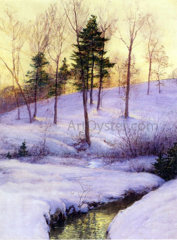 Walter Launt Palmer The Hillside - Hand Painted Oil Painting