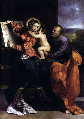 Dosso Dossi The Holy Family - Hand Painted Oil Painting