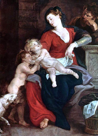 Peter Paul Rubens The Holy Family with the Basket - Hand Painted Oil Painting