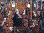 Painters (2) Masters The Holy Kinship Altarpiece (central panel) - Hand Painted Oil Painting