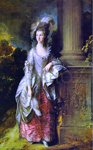 Thomas Gainsborough The Hon. Mrs. Thomas Graham - Hand Painted Oil Painting