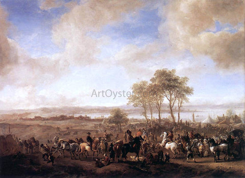 Philips Wouwerman The Horse Fair - Hand Painted Oil Painting