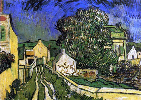 Vincent Van Gogh The House of Pere Pilon - Hand Painted Oil Painting